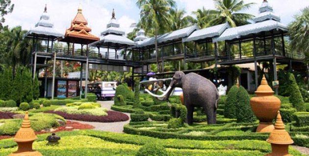 Imagenes Jardin Tropical En Tailandia
