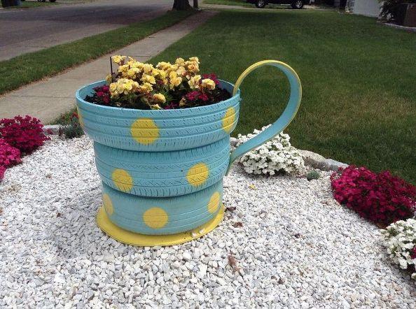 ucimagenes con ideas para decorar el jardin con floresud with decoracion para el jardin