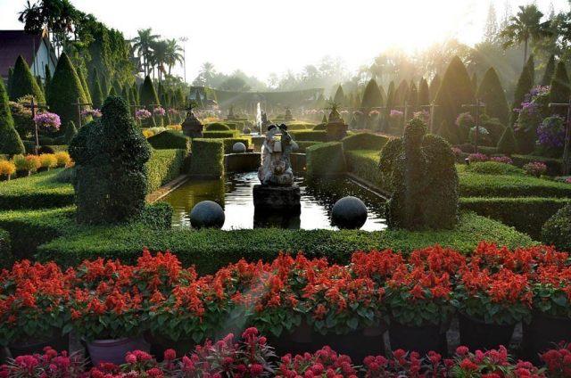 Jardin En Tailandia Nong Nooch