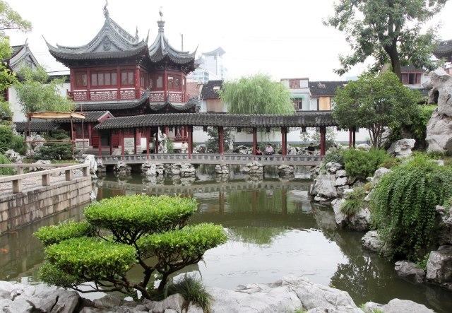 Jardines Chinos en Shanghai Yuyuan Fotos