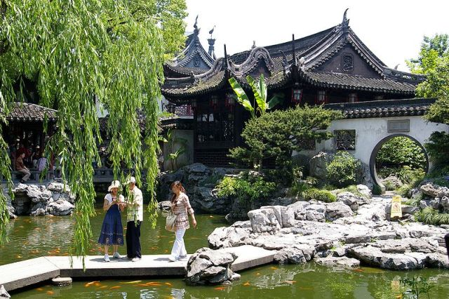 Yuyuan Jardines Shanghai Fotografias