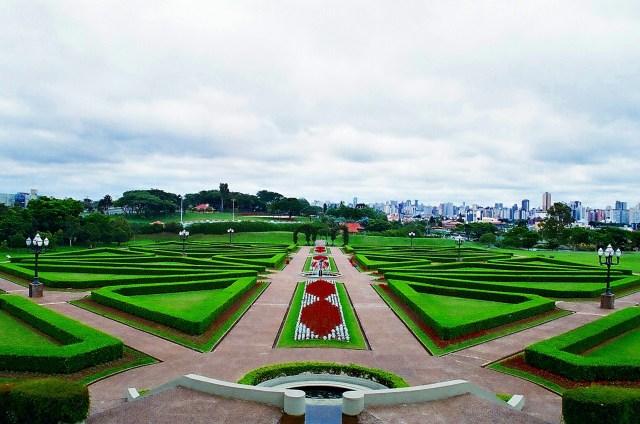 Curitiba Jardin En Brasil Fondo De Pantalla