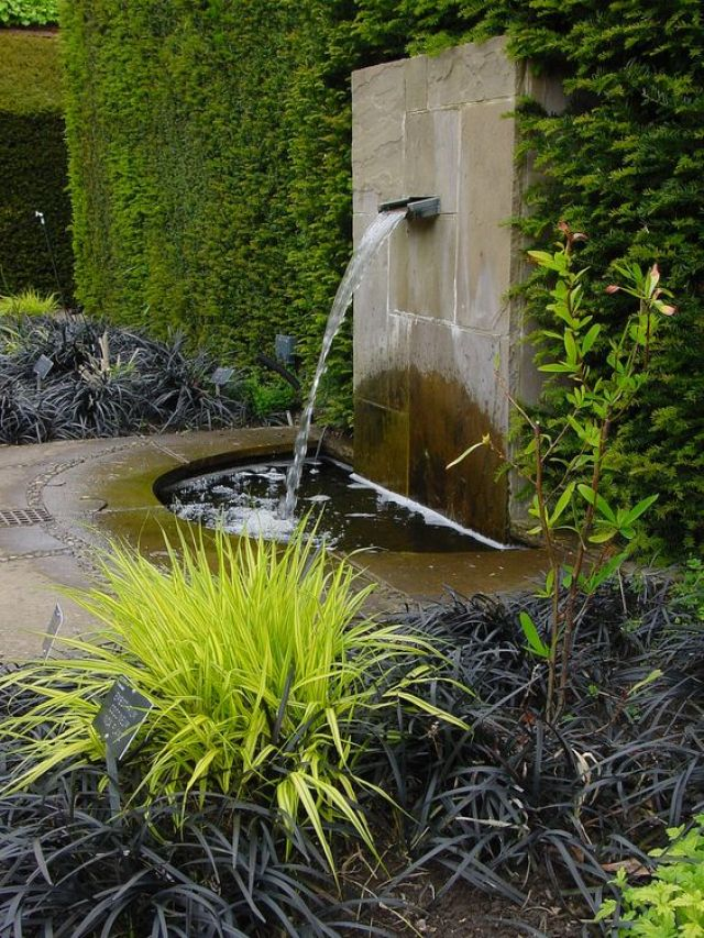 Ideas de decoracion para el jardin con fuentes