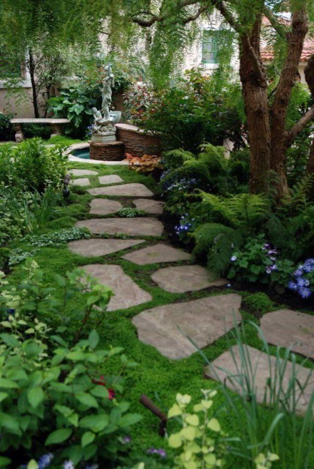 Imagen de senderos para jardines