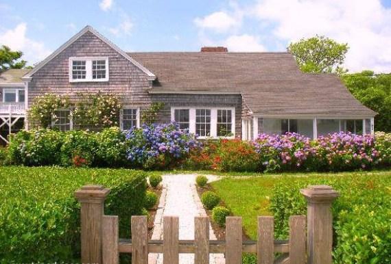 Imagenes bonitas de casas con jardines de flores