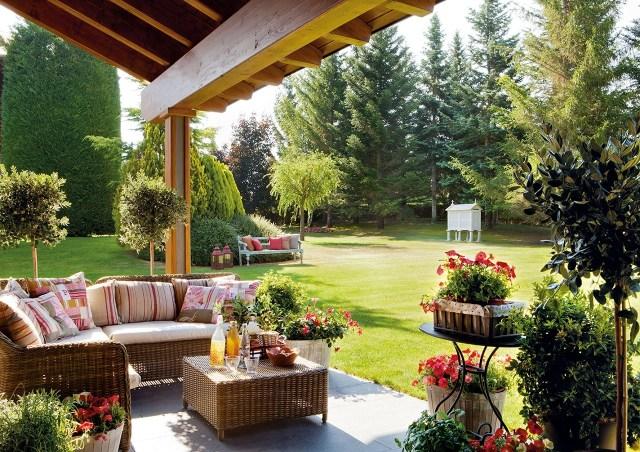 Imagenes con espacios para disfrutar en el jardin