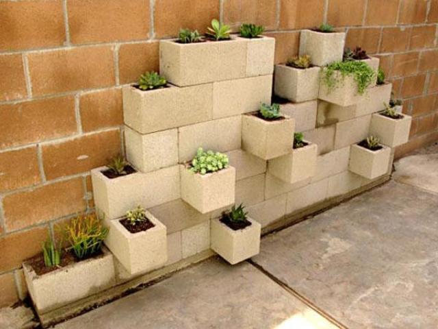 Imagenes con ideas de decoracion de jardines reciclando