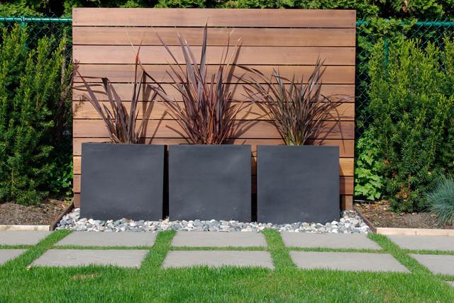 Imagenes con ideas de decoracion minimalista para el jardín
