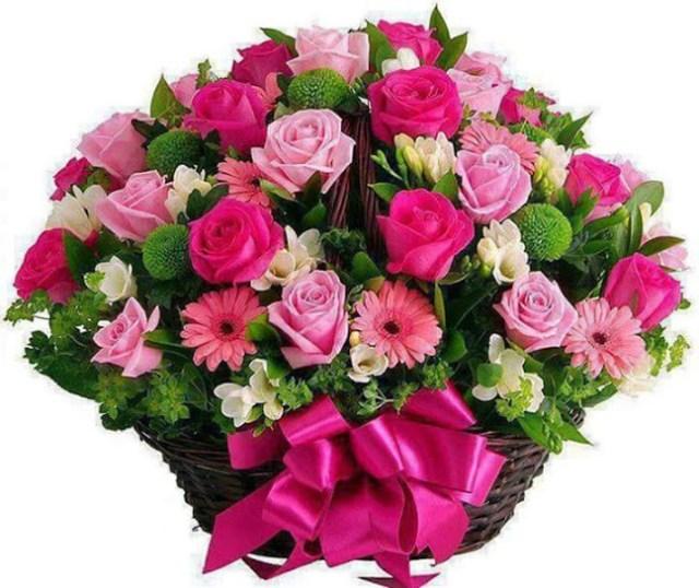 Imagenes de arreglos de flores para enviar por whatsapp