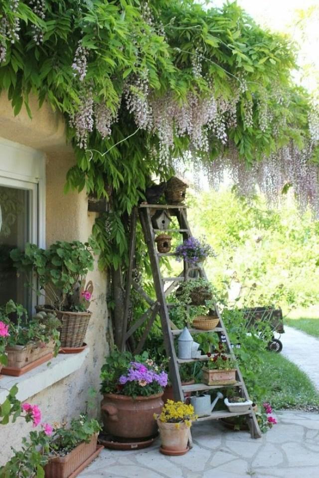Imagenes de diseño con reciclaje para el jardín