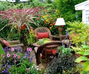 Fotos De Zonas De Descanso En El Jardín