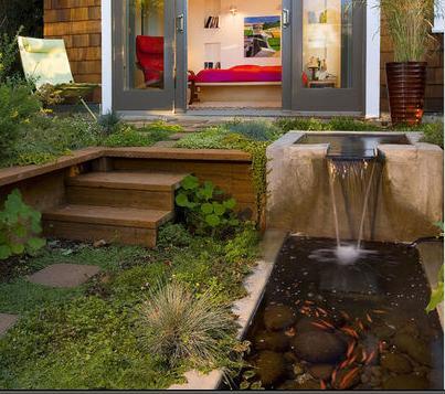 imagenes de fuentes para jardines de hogar uc