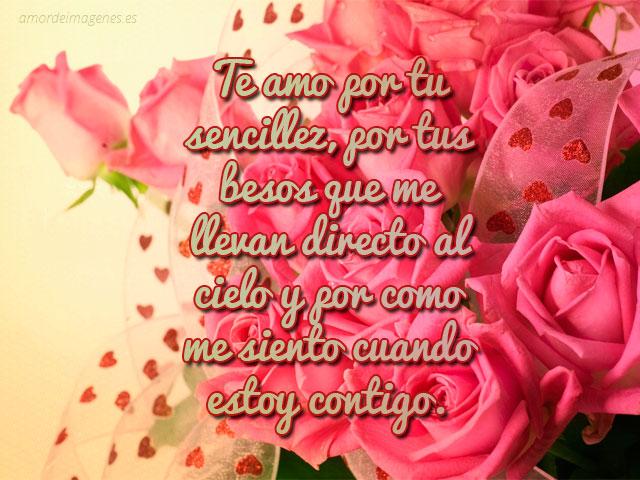 Imagenes de rosas con frases y versos de amor