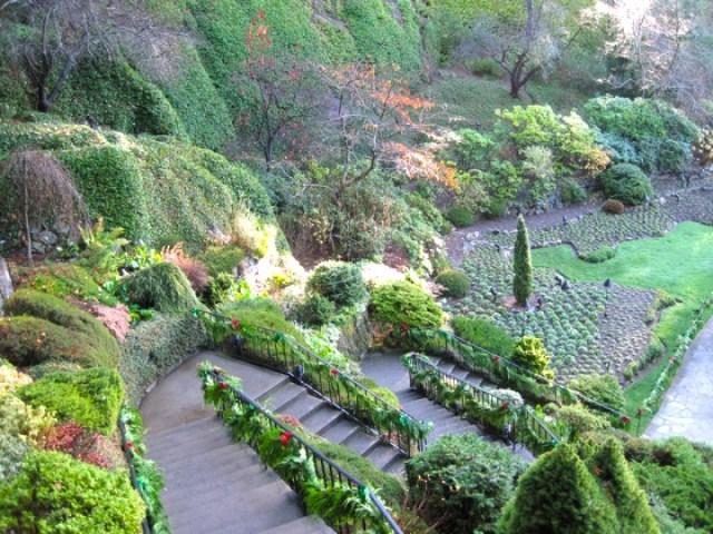 Imagenes del jardin Butchart para facebook