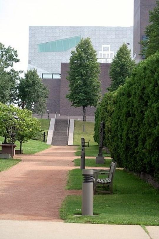 Imagenes del jardin de la escultura Estados Unidos