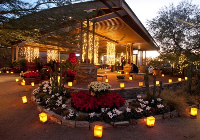 Jardín botanico del desierto en phoenix
