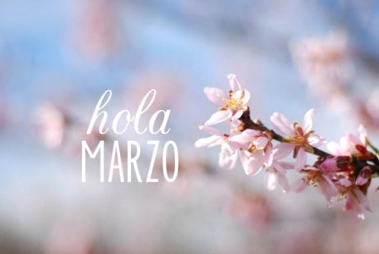 Imagenes de flores Hola marzo