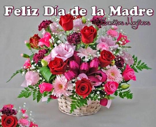 Imagenes De Ramos De Flores Para WhatsApp Feliz Día De La Madre