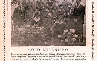 Coro lucentino 1932
