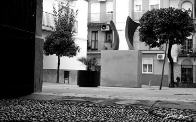 Monumento al Cristo de la columna. Barrio de Santiago