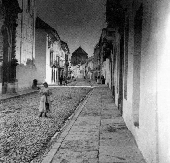 C/ San Pedro, Iglesia de San Pedro Mártir 1910