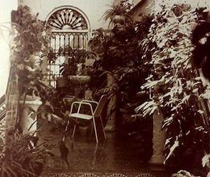 Patio de una casa de Lucena