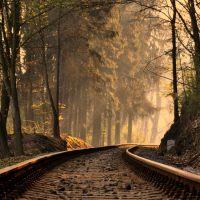 HD Wallpaper, via del ferrocarril.