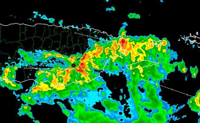 Alertas de Inundaciones para varios municipios hasta la madrugada