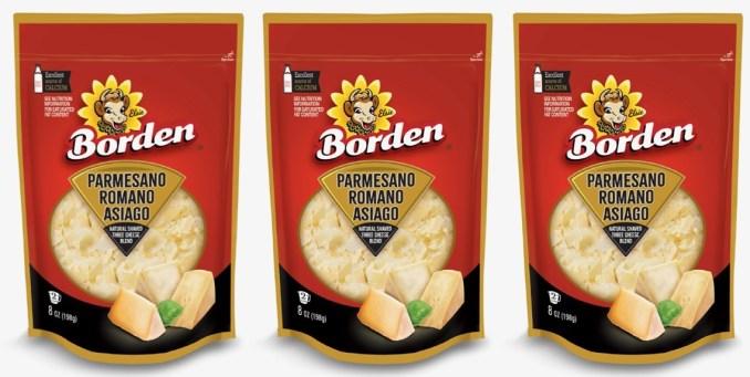 Borden amplía su variedad de quesos con el nuevo Natural Shaved Three Cheese Blend