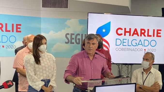 Charlie Delgado llama irresponsable a Pierluisi por declararse ganador de la contienda a la gobernación