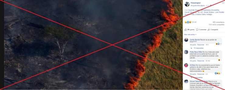 Fotos falas incendio amazonia