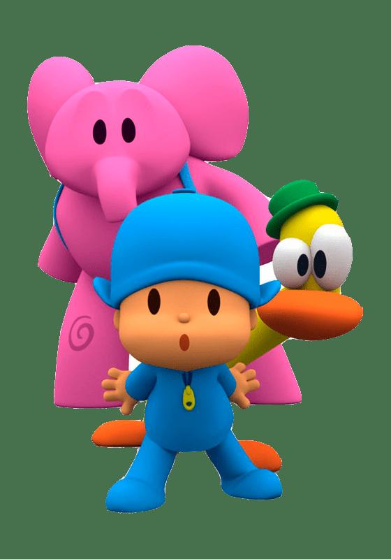 Pocoyo characters