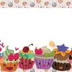 Imágenes y marcos de cupcakes