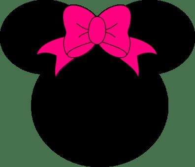 Cabeza Minnie orejas