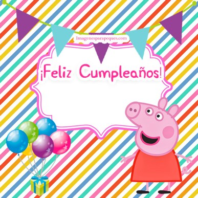 Happy Birthday Peppa Pig