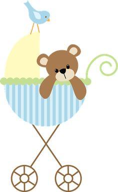 Imagenes de Ositos para Nacimiento Varones - Baby Shower Varon