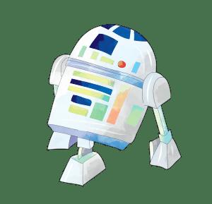 R2 D2 CLIPART PNG