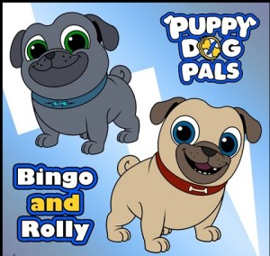 Bingo & Rolly Puppy Dog Pals