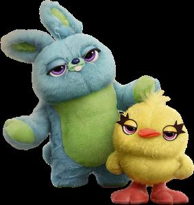 conejo y pollito toy story 4 personajes