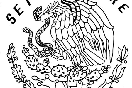 Results for Escudo De La Bandera De Mexico Para Colorear