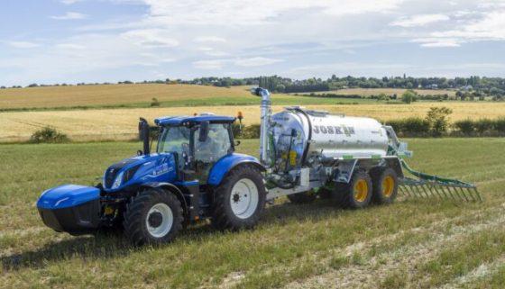 Trator New Holland movido a biometano