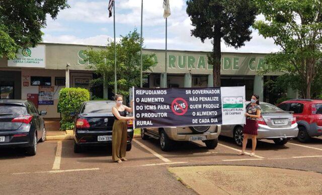 Sindicato Rural de Campinas, antes do tratoraço