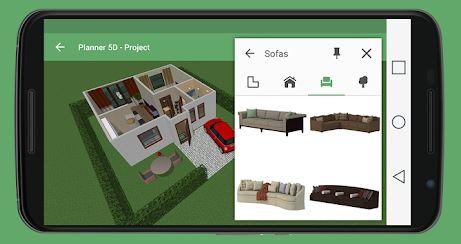 aplicativo para design de interiores planner 5d design de interior