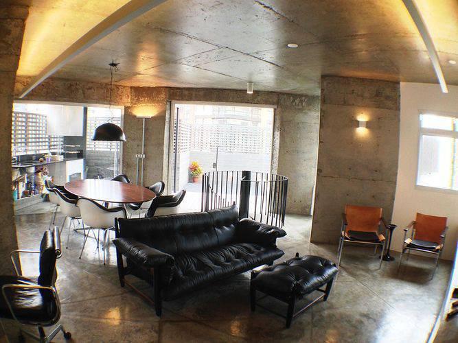 102909 sala de estar com piso de cimento queimado -odvo-viva-decora