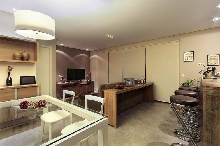 13916- Sala de estar com piso de cimento queimado -juliana-conforto-viva-decora