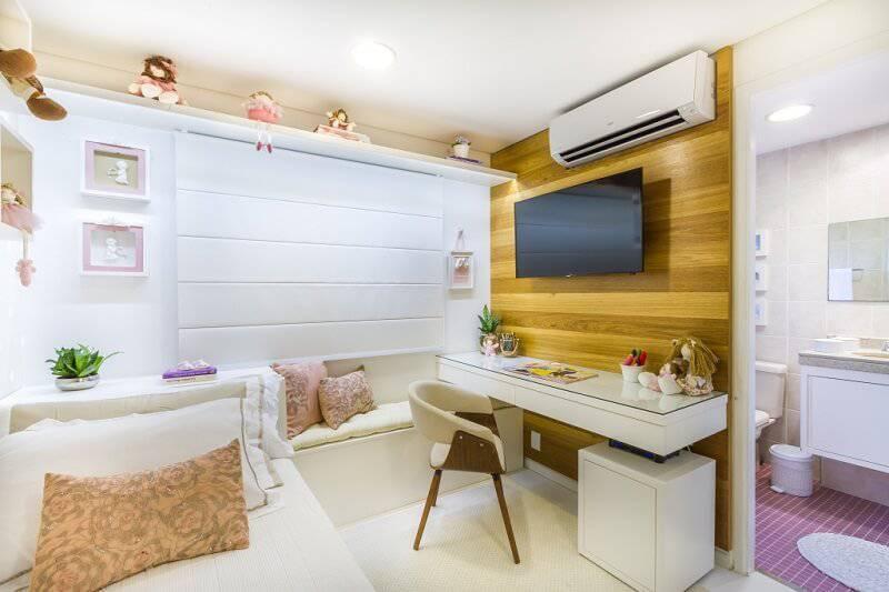 Escrivaninha quarto de menina
