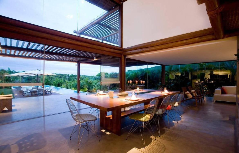 casas de campo sala de jantar sq arquitetos associados 65559