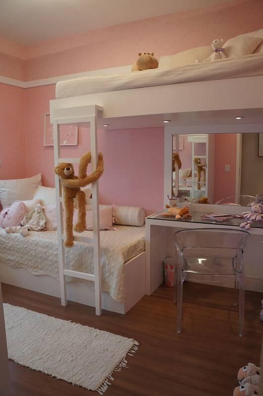 escrivaninha quarto de menina com beliche mauren buest 146040