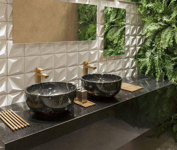 torneiras para banheiro dupla marmore