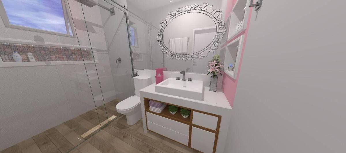 espelho para banheiro detalhado quarto de menina raquel venezian 113093